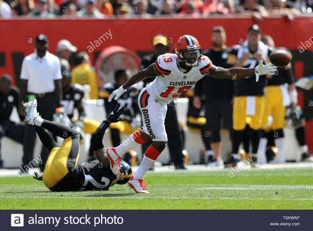 cleveland-browns-corey-coleman-is-unable-to-make-a-catch-while-defended-by-pittsburgh-steelers-artie-burns-during-the-second-half-at-first-energy-stadium-in-cleveland-ohio-september-10-2017-photo-by-aaron-josefczykupi-TXKWN7